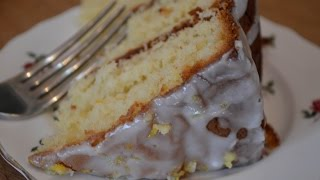 How To Make: Lemon Sponge Cake