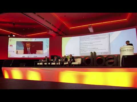 Dr. Basel Dalloul @ the Broadband World forum Think Tank Debate 2014