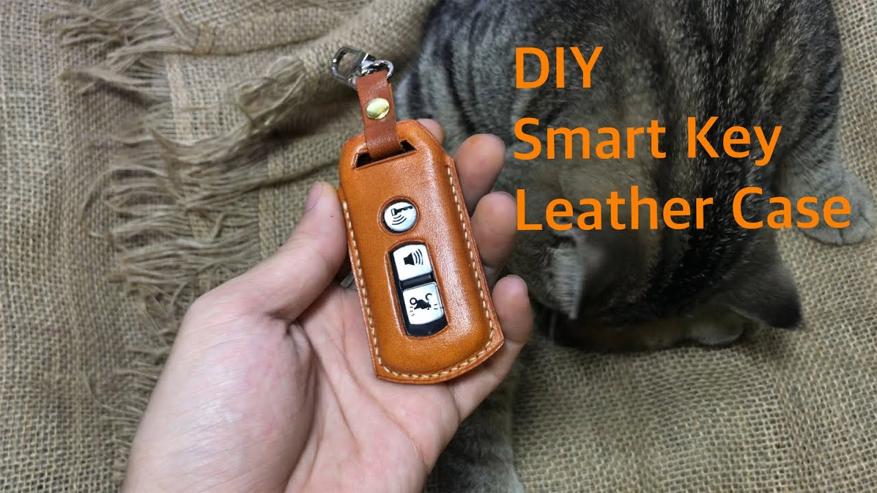 [DIY] Smart Key Leather Case | Làm Bao Da Cho Chìa Khoá Honda Smart Key
