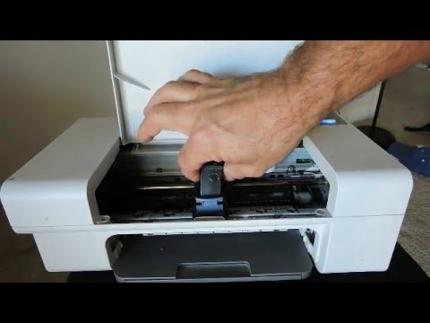 Changing Ink Lexmark 2735 Printer