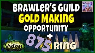 WoW Legion 7.1.5 Gold Guide - Unlocking the Brawler