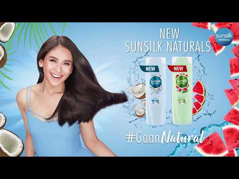 All-New Natural Ingredients, Now in Sunsilk!