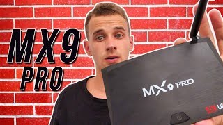 MX9 Pro Android TV приставка: Обзор