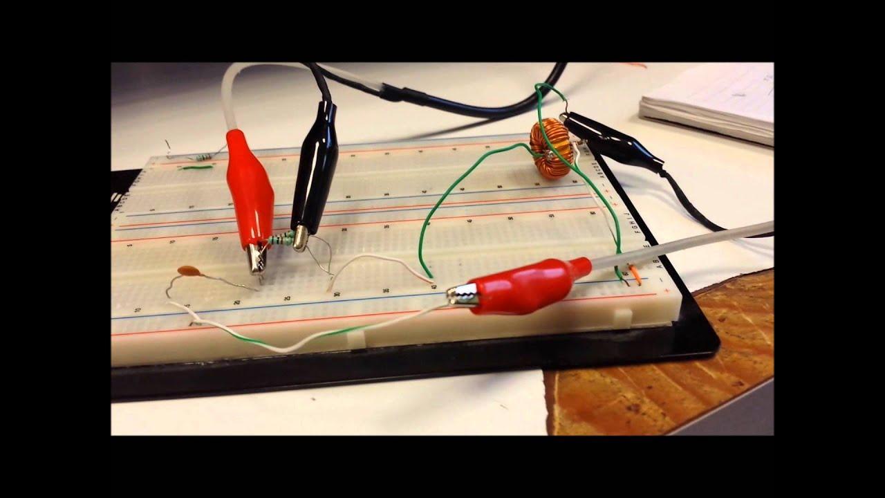 Circuito Rlc : Practica circuito rlc youtube