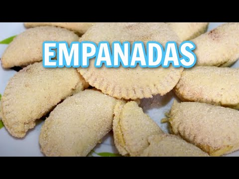 EMPANADAS DULCES DE CREMA PASTELERA CASERA