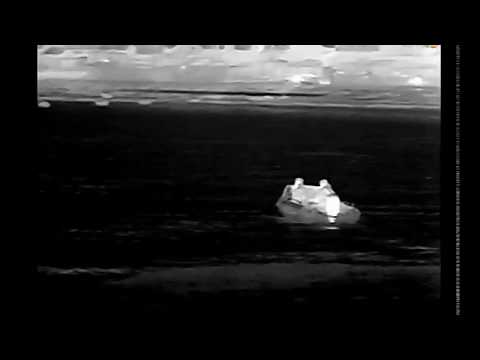 Marine Thermal Night Vision Cameras long range seaport surveillance camera