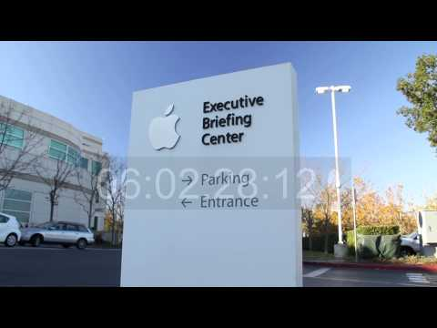 Apple Computer Cupertino HQ and Sunnyvale
