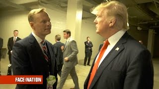 Extended Interview: John Dickerson interviews President Donald Trump, April 30