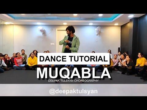 Muqabla Dance Tutorial   Deepak Tulsyan Choreography   Street Dancer 3