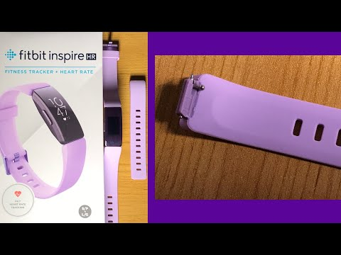 Fitbit Inspire HR How to change the Strap / Band . Works with some other models