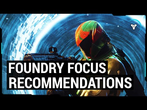 Destiny Taken King: Top 3 Legendary Weapon Recommendations (Foundry Focus #2)