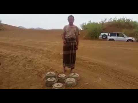 فيديو: السيول تجرف ألغام زرعها الحوثيون في منطقة طوال السادة بجبهة بيحان بشبوة