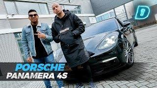 Pull up in de Panamera 4S // DAY1 De Auto van DJ Dyna