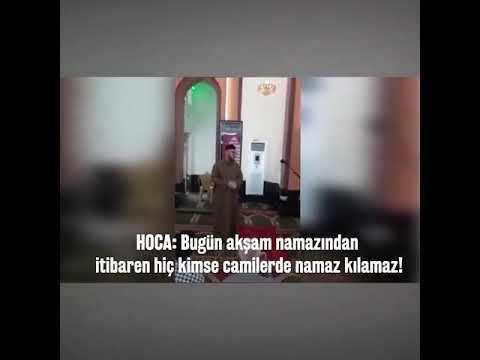 Masjidlarda vaqtincha namoz o'qilmaydi😢