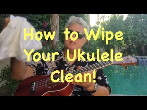 How to Clean Your Ukulele!  by Pismo