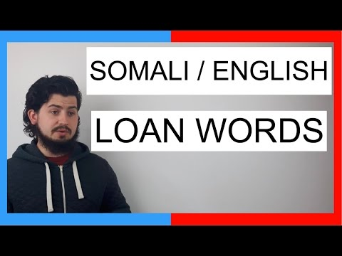 COMMON WORDS IN SOMALI AND ENGLISH! || SOMALI LANGUAGE