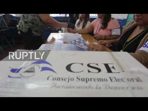 Nicaragua: Citizens cast their votes in presidential election