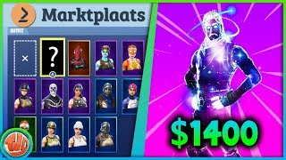 FORTNITE ACCOUNT KOPEN VAN $1400!! EIGEN ACCOUNT VERKOPEN!? - Fortnite: Battle Royale