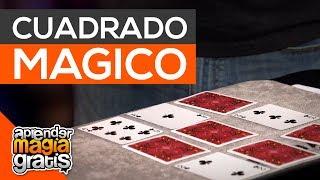 Cuadrado mágico con cartas | Tres en linea | Truco de magia con cartas revelado