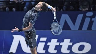 Highlights: Djokovic Defeats Anderson At The 2018 Nitto ATP Finals