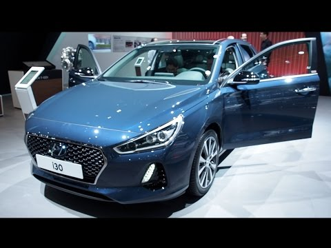 Hyundai i30 2017 In detail review walkaround Interior Exterior