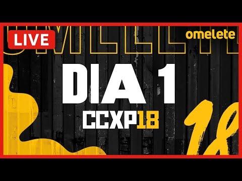 GAME OF THRONES NA CCXP 2018! | AO VIVO