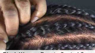 How To Do Cornrow Braids - Learn how to to this simple braiding technique.