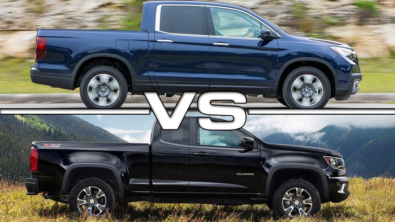 2017 Honda Ridgeline vs Chevrolet Colorado - YouTube