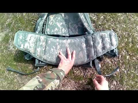 How To Assemble A MOLLE Rucksack