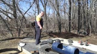 Сергей Шутов гантель 115 кг на 63 мм грифе