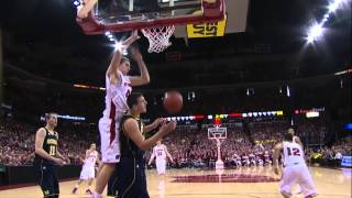 Wisconsin vs Michigan Basketball Highlights 2/9/13