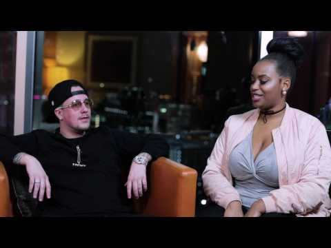 """""""Krissy M from Rolling Out """"Rap it up""""     Interview with SCOTTY ROC"""