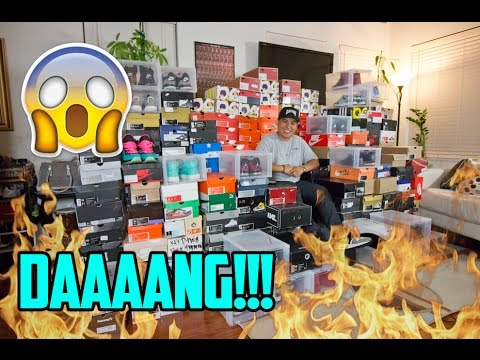 MY ENTIRE SNEAKER COLLECTION!!! (MUST WATCH)