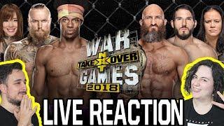WWE NXT War Games II [Live Reaction ITA]