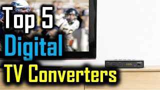 Top 5 Digital TV Converters 2018 | 5 Best Digital TV Converters | Best Digital TV Converters Review