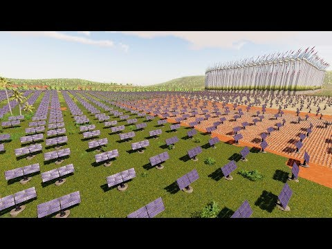 When You Spend $750,000,000 For Solar Panels Across The Map - Farming Simulator 19