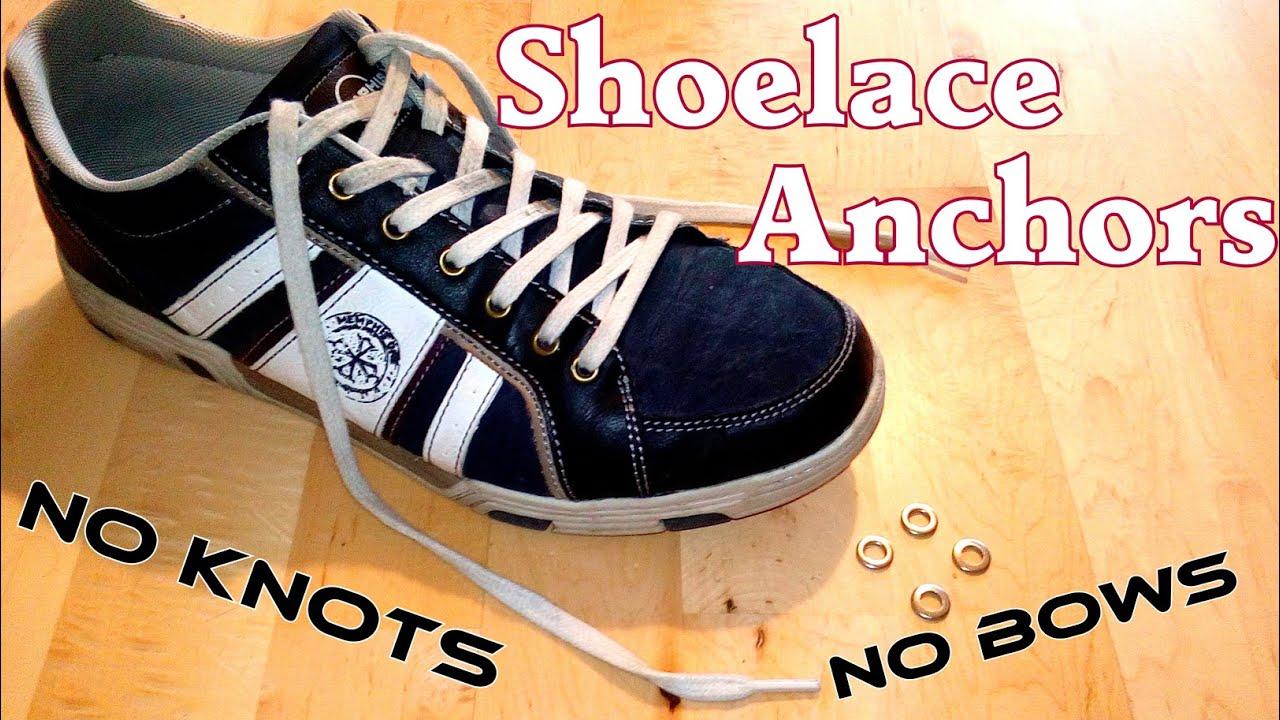 Jak wiązać buty - sposób z metalową podkładką