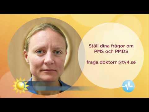 Gynekologen om PMS och PMDS - Nyhetsmorgon (TV4)