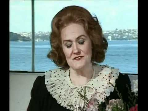 Dame Joan Sutherland interviewed by Brian Adams in 1982
