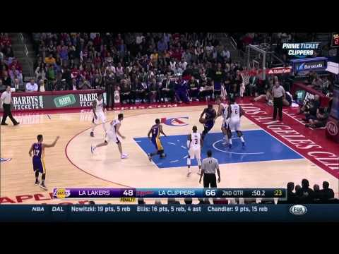 Ralph Lawler slurring in late 1st half