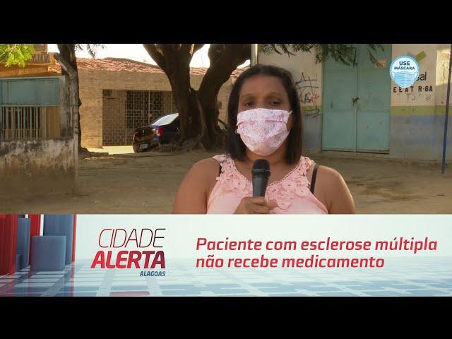 1   Paciente com esclerose múltipla não recebe medicamento há três meses   Cidade Alerta   23092020