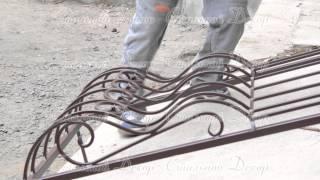 видео Французские кованые решетки