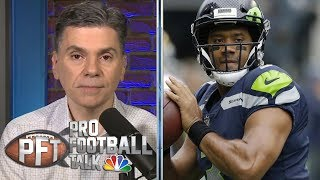 Teams need to be wary about franchise qbs like russell wilson | pro football talk nbc sports