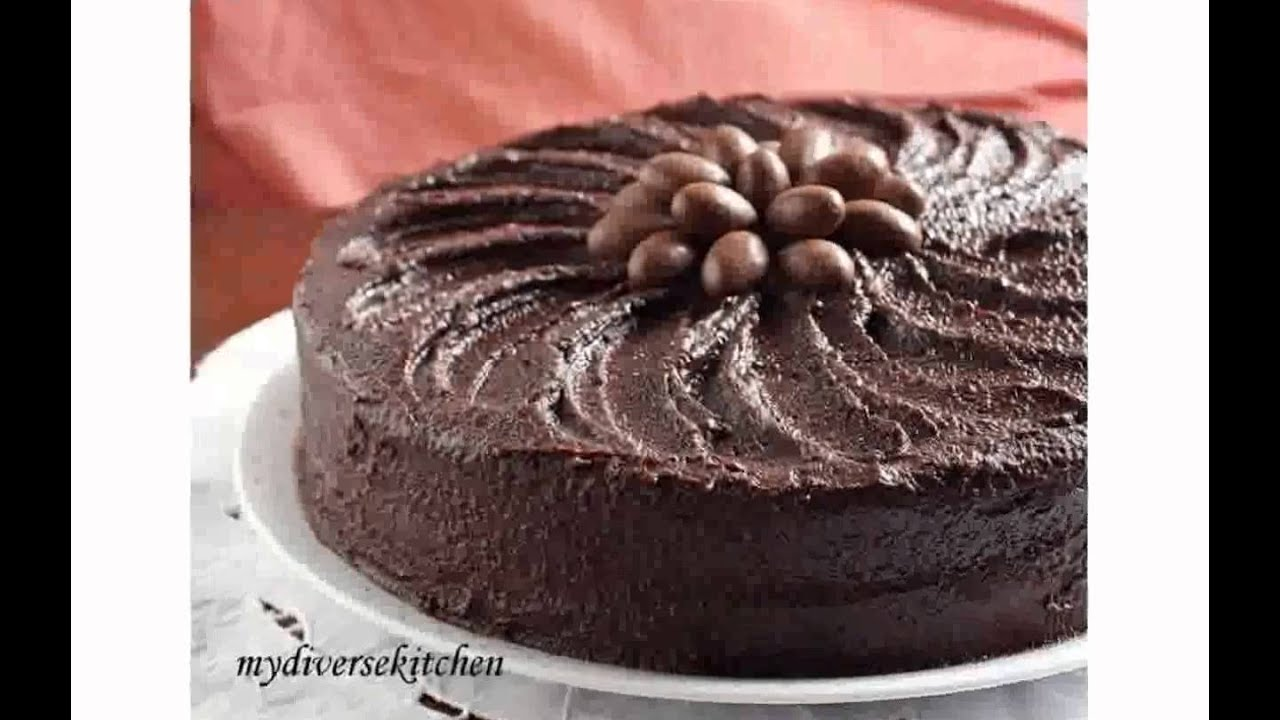 Easy chocolate birthday cake youtube forumfinder Gallery