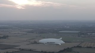 Airlander 10 - World's Largest Aircraft First Flight