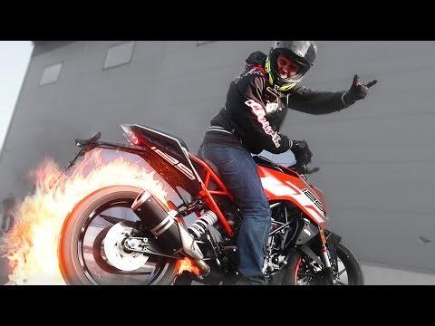 KTM DUKE 125 2017 TEST RIDE