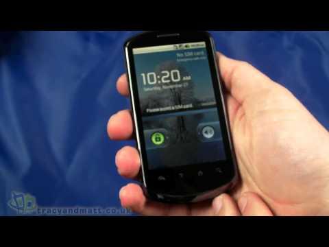 Huawei U8800 unboxing video