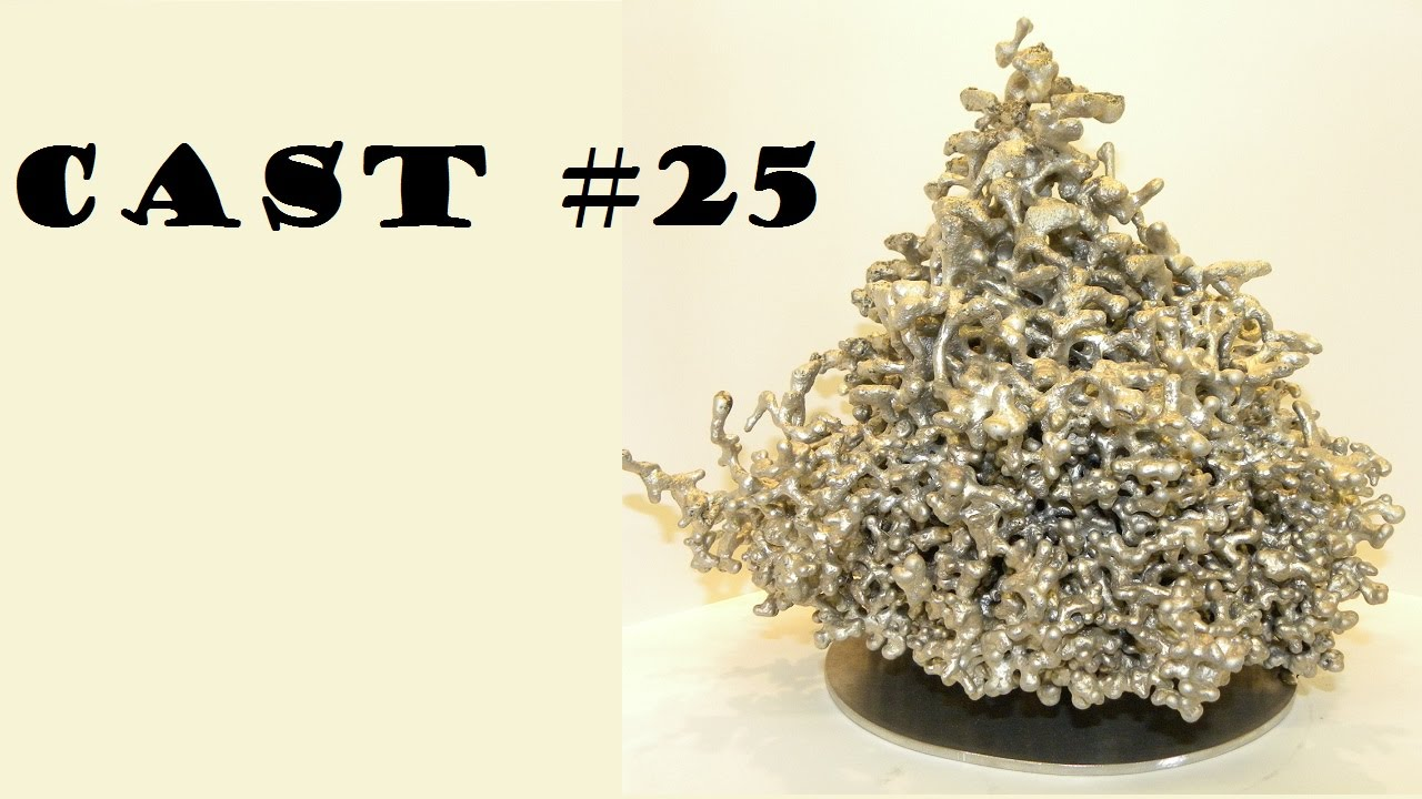 Texas Anthill Art: Cast #25 (Big cast)