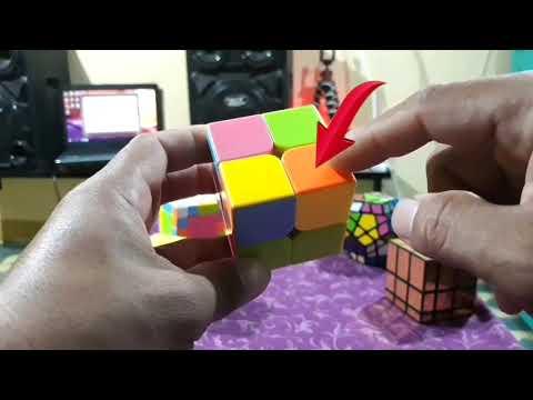 Easy way to solve 2x2 Rubik's Cube (Tagalog Tutorial)Mabilis Matandaan