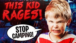 Kid RAGES when I kill him in Black Ops 4 - Funny BO4 SnD Rage Moments